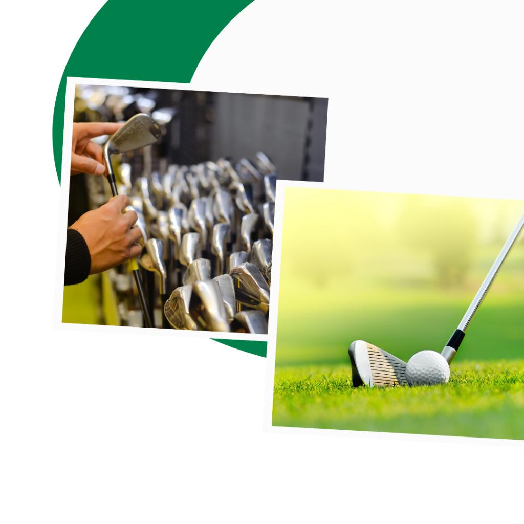 golf express 9 golf clubs